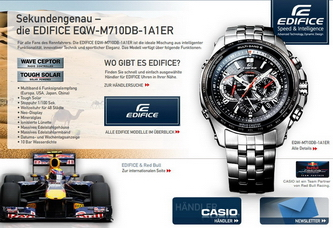 Sekundengenau: Casio EDIFICE EQW-M710DB-1A1ER