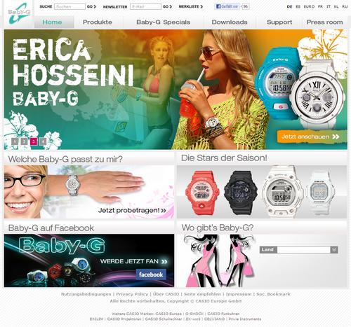 Screenshot http://www.baby-g.eu/de/