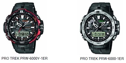 Casio PRW-6000 Pro Trek Uhr